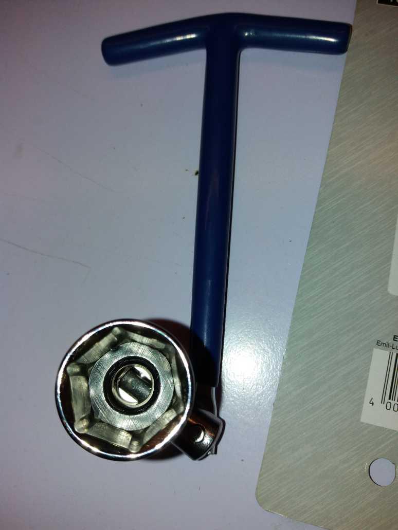 Ключ свечной Basic 21мм