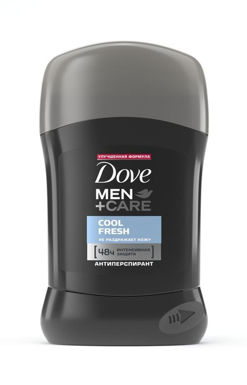 """цена Dove Men+Care антиперспирант карандаш """"Прохлада и свежесть"""", 50 мл"""