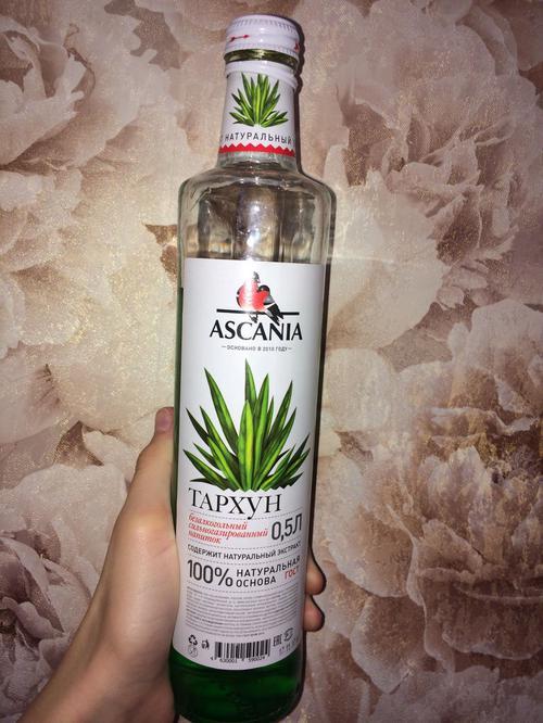 """фото2 Газированный напиток Ascania, """"Тархун"""""""