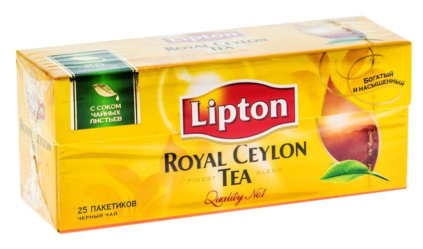 отзыв Чай Lipton Royal Ceylon, черный байховый цейлонский