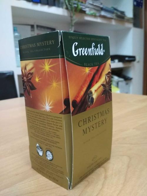 фото Чай черный байховый Гринфилд Кристмас Мистери в пакетиках