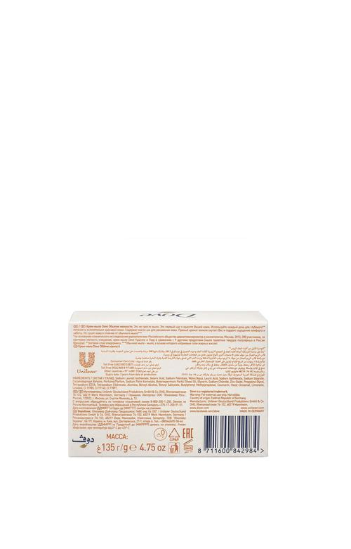 описание Крем-мыло Dove Объятия нежности