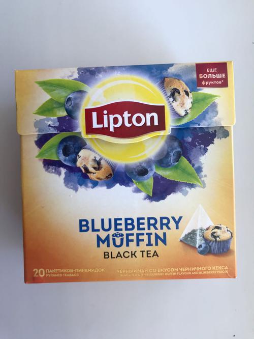 фото Чай Lipton черничный кекс