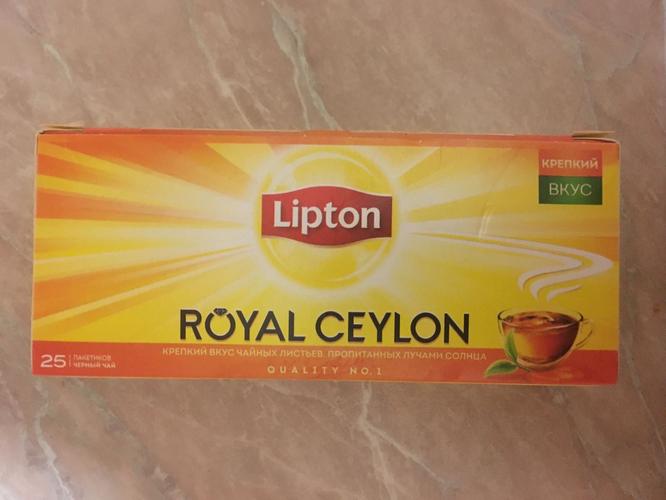 фото5 Чай Lipton Royal Ceylon, черный байховый цейлонский