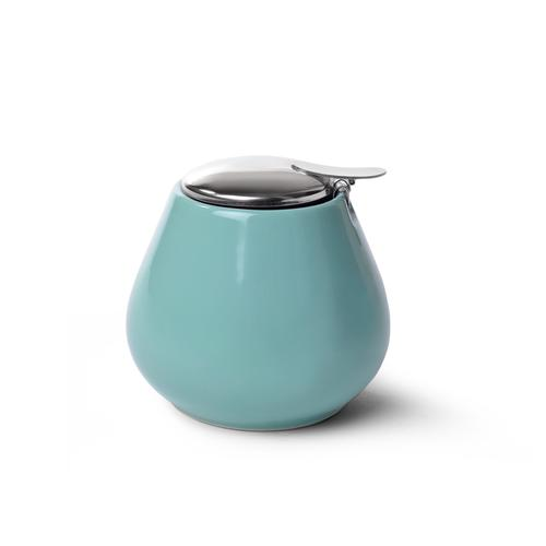 FISSMAN Сахарница 600мл, цвет Аквамарин (керамика)