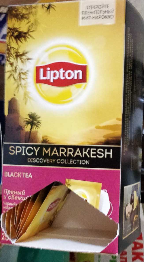 фото Чай Lipton пряный и свежий