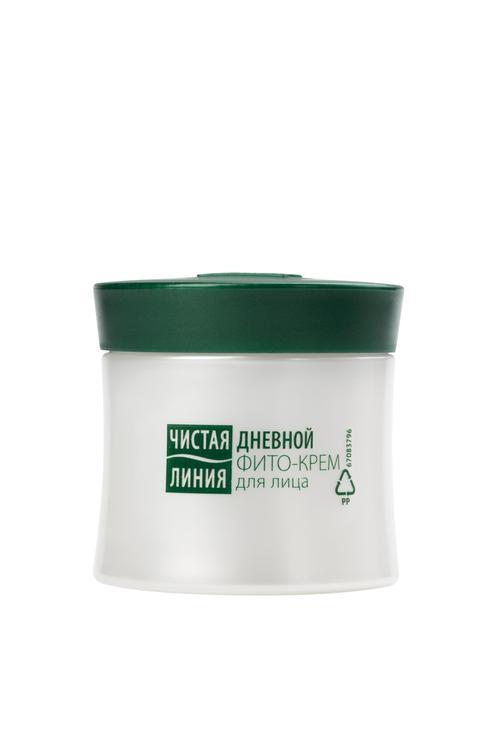 стоимость Фито-крем для лица чистая линия от 25 лет василек и барбарис для нормальной и комбинированной кожи