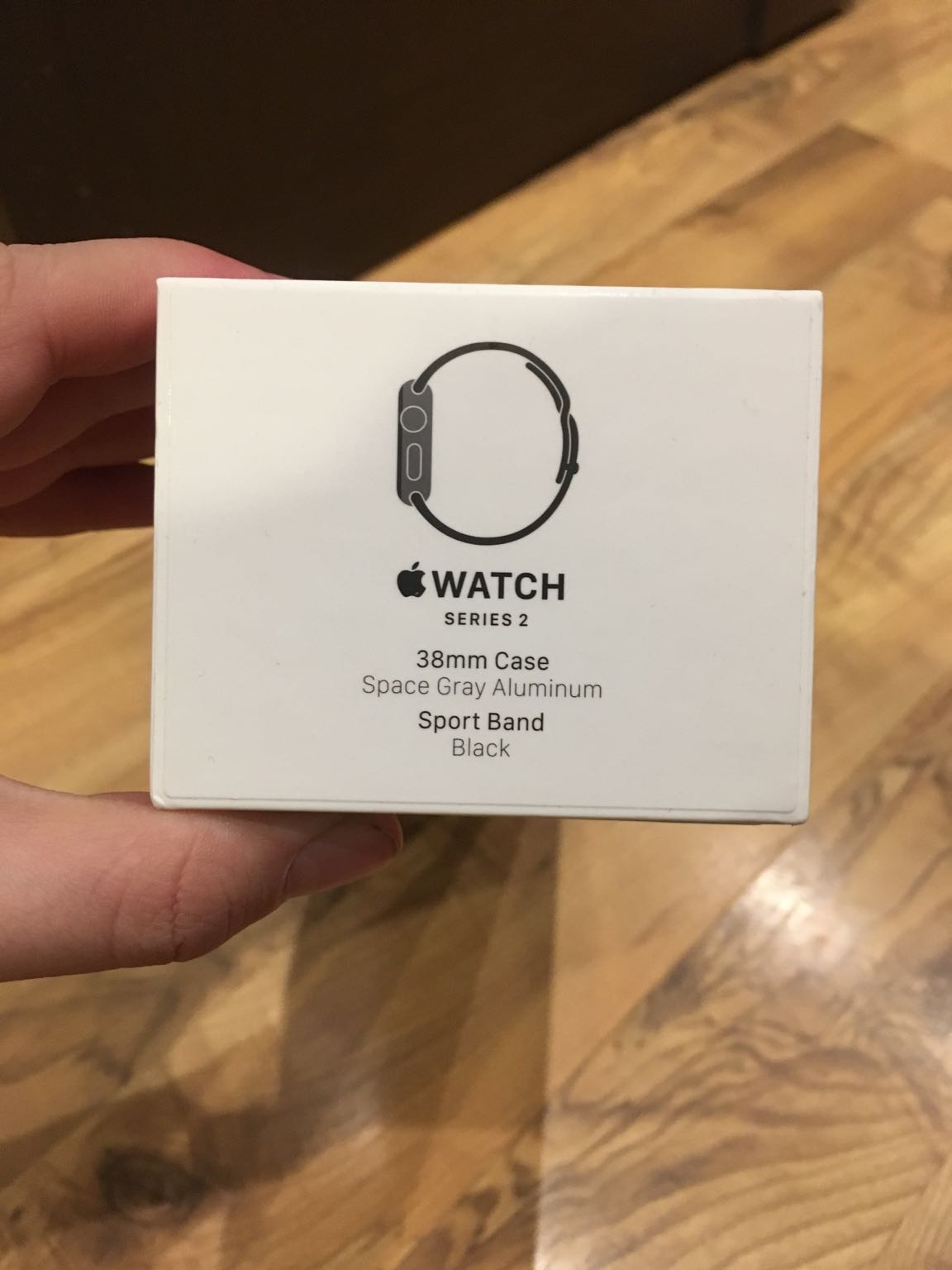 стоимость Смарт-часы Apple Watch S2 Sport 38mm Sp Grey Al/Black