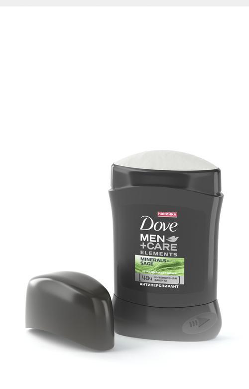 """цена Dove Men+Care антиперспирант карандаш """"Свежесть минералов и шалфея"""", 50 мл"""