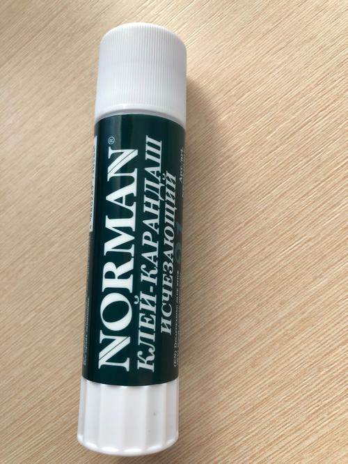 Клей-карандаш исчезающий Norman