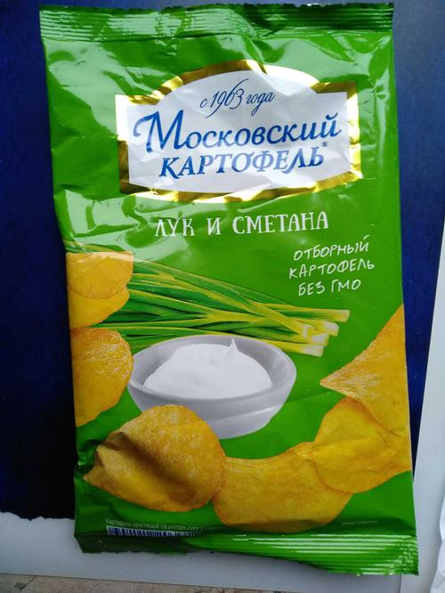 """стоимость Чипсы """"Московский картофель"""""""