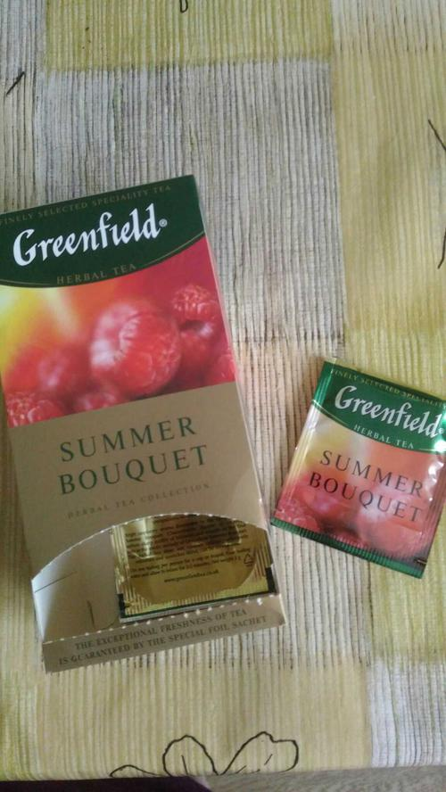 фото9 Напиток чайный Гринфилд Самма Букет в пакетиках