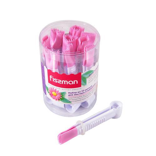 Набор щипцов 10шт для мастики и марципана 10x1,2см (пластик)
