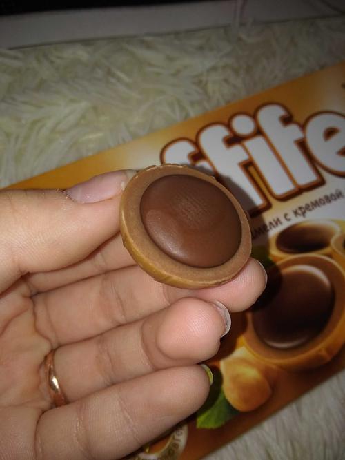 """фото Конфеты """"Тоффифи"""" (Toffifee) Лесной Орех в карамельной чашечке с нугой и шоколадом, 125гр."""