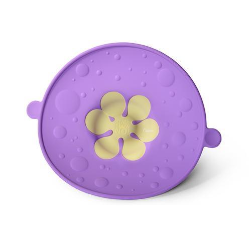 Крышка-невыкипайка 30см цвет Лиловый (силикон)