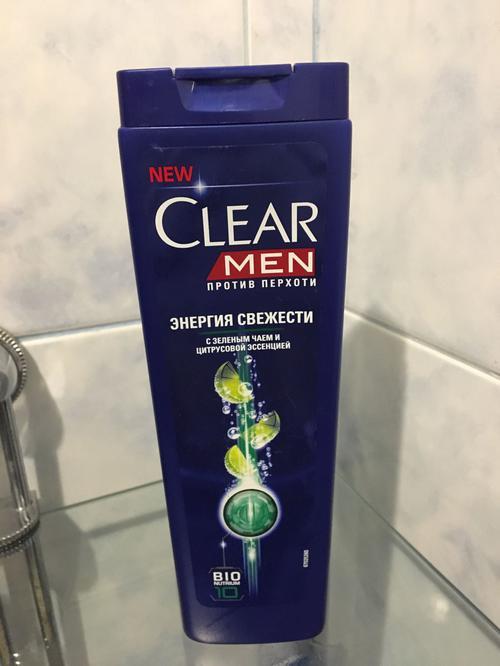 фото5 Шампунь Для мужчин ТМ Clear vita ABE - Энергия свежести 400мл Пласт. пл.