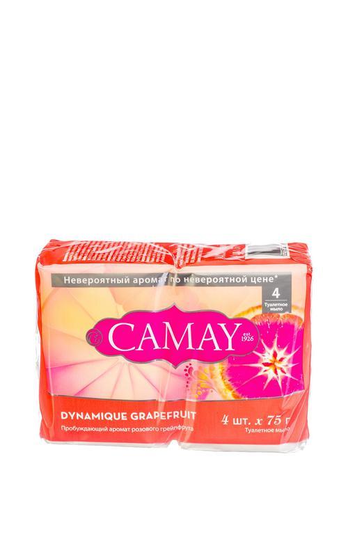 """отзыв Camay твердое мыло """"Динамик грейпфрут"""" 4 х 75 гр"""