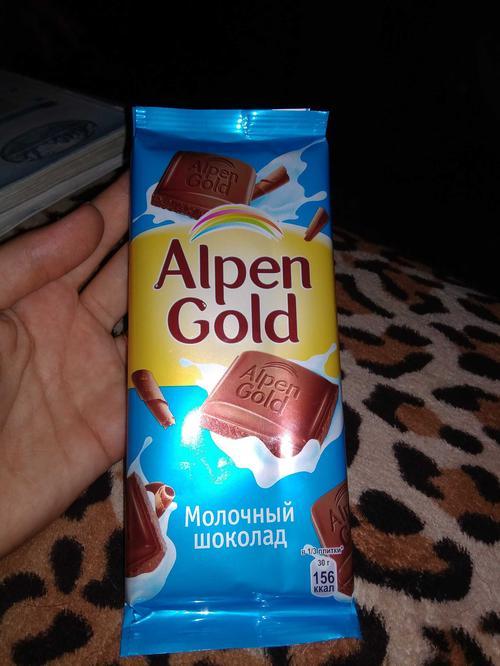 фото1 Шоколад Alpen Gold молочный, 90гр.