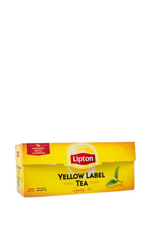 Чай Lipton Yellow Label черный, 25пак.