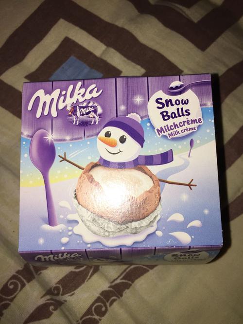 отзыв Шоколад milka фигурный молочный в форме шара с кремовой молочной начинкой