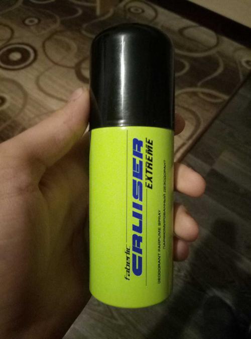3611 Парфюмированный дезодорант для мужчин CRUISER EXTREME 75 мл