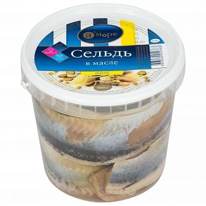 Филе сельди в масле. Пресервы рыбные