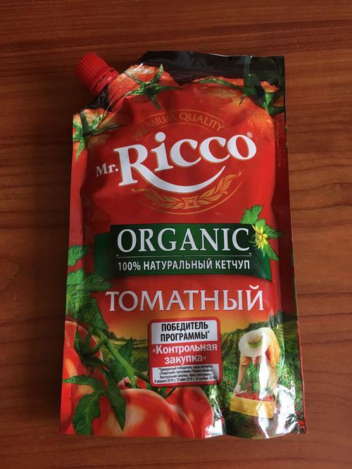фото9 Кетчуп томатный Pomodoro Speciale Mr.Ricco. Высшая категория. Пастеризованный.