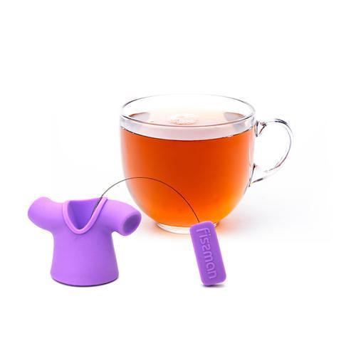 Ситечко для заваривания чая МАЙКА 4см (силикон) (промо-коробка)