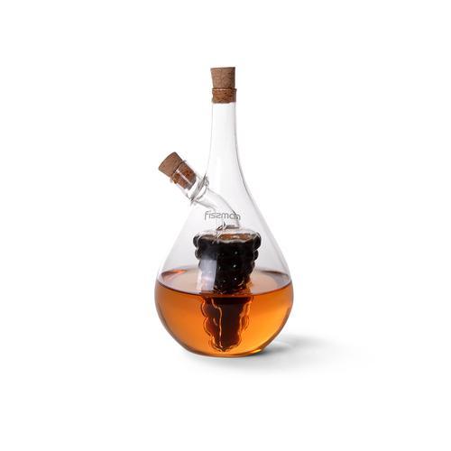 Бутылочка 50/500мл для масла и уксуса 2-в-1 (стекло)