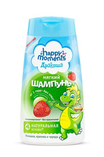 Happy Moments Дракоша Детский Шампунь С Ароматом Земляники