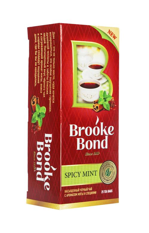 описание Чай черный байховый ароматизиров mint spices со специями 24х25пх1.5г