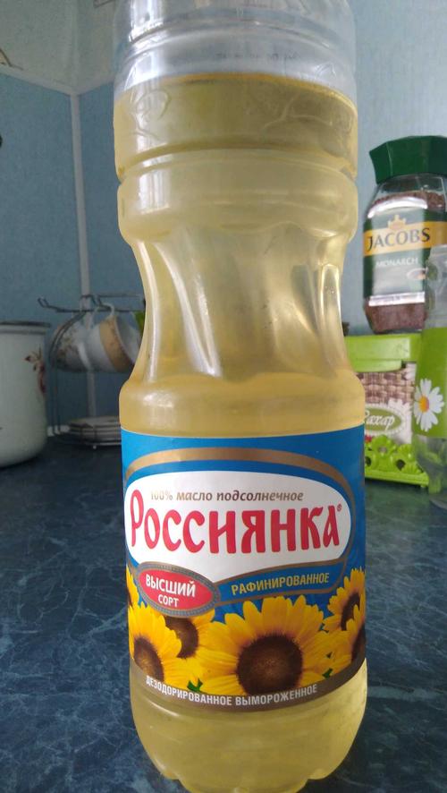 """отзыв Подсолнечное масло """"Россиянка"""""""