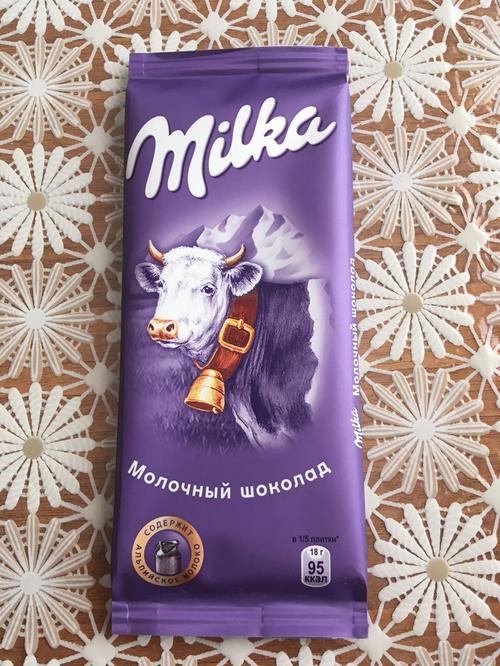 фото8 Шоколад Milka молочный