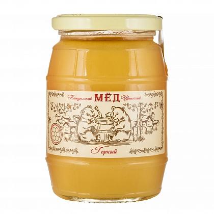 Мёд натуральный цветочный горный