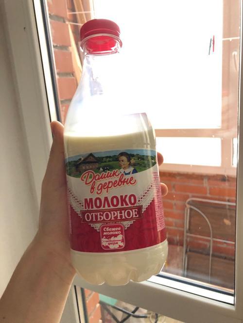 """фото5 Молоко """"Домик в деревне"""" отборное 3,5% пастеризованное, 930гр."""