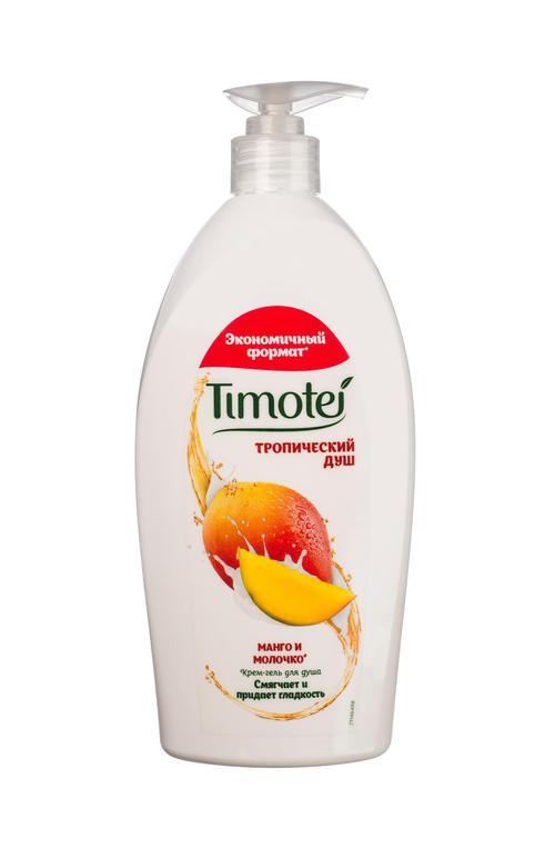 """цена Timotei """"Тропический душ"""" крем-гель для душа 250 мл"""