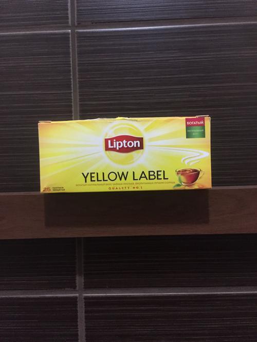 фото23 Чай Lipton Yellow Label черный, 25пак.