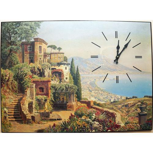 Часы настенные Михаил Москвин картина озеро