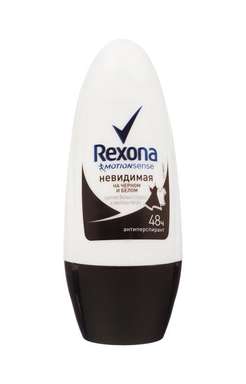 Дезодорант шариковый Rexona Невидимая защита для черного и белого (50 мл)