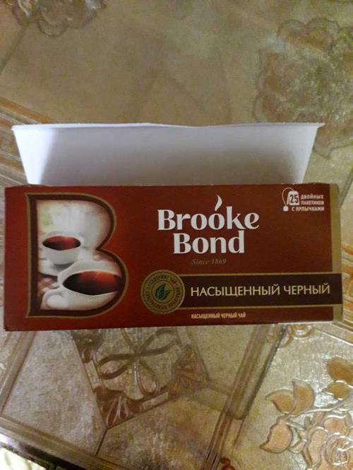 фото2 Чай черный brooke bond байховый, 25 пакетиков х 1,8г.