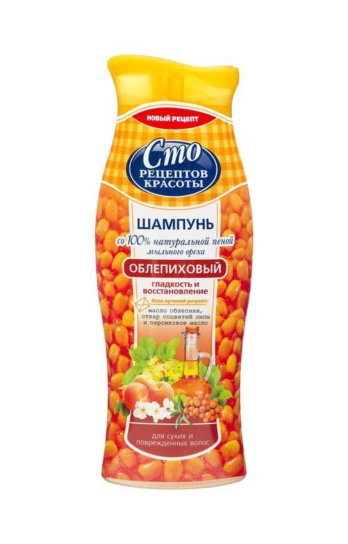 """цена Шампунь """"для сухих и поврежденных волос"""" сто рецептов красоты"""