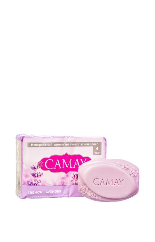 описание Camay твердое мыло аромат французской лаванды 85 гр