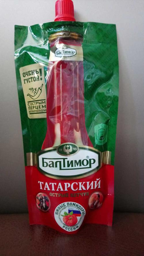 стоимость Балтимор Татарский острый кетчуп