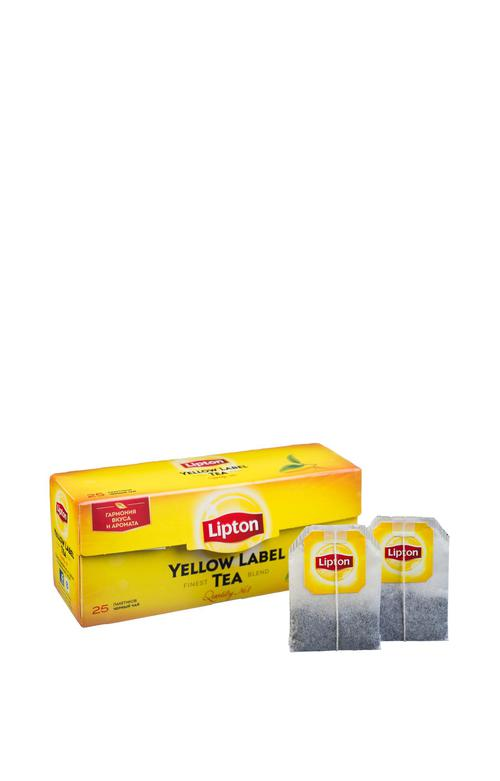 отзыв Чай Lipton Yellow Label черный, 25пак.