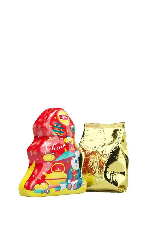 """фото16 Набор lipton """"новогодняя ёлочка"""" с листовым чаем"""