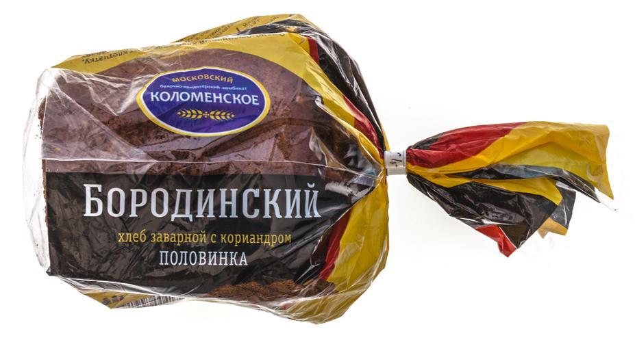 """Хлеб """"Коломенский"""", """"Бородинский"""""""