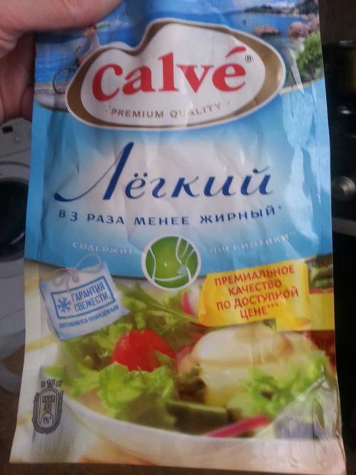 фото Майонезный соус Calve Легкий 20%