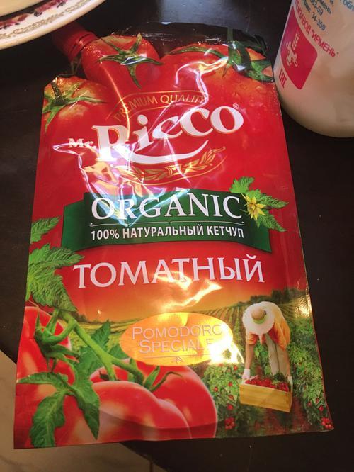 фото14 Кетчуп томатный Pomodoro Speciale Mr.Ricco. Высшая категория. Пастеризованный.