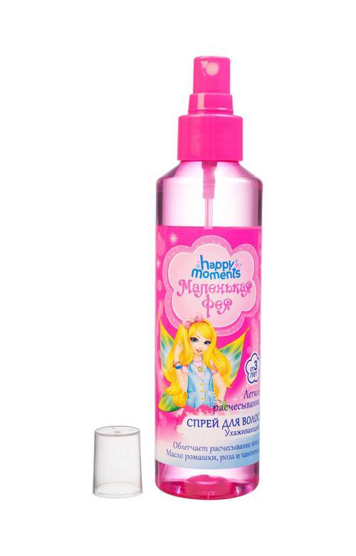 """описание Ухаживающий спрей для волос """"легкое расчесывание"""" маленькая фея"""
