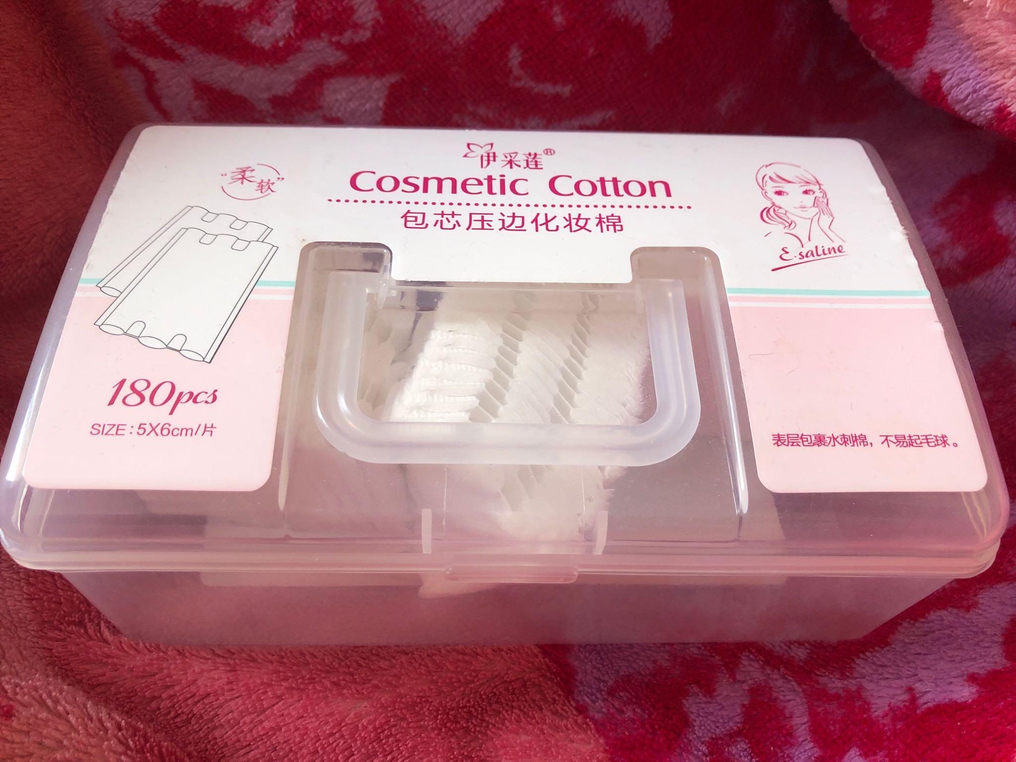 Cosmetic Cotton вытные диски 180 штук